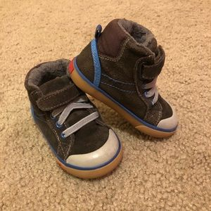 See Kai Run Suede Boots